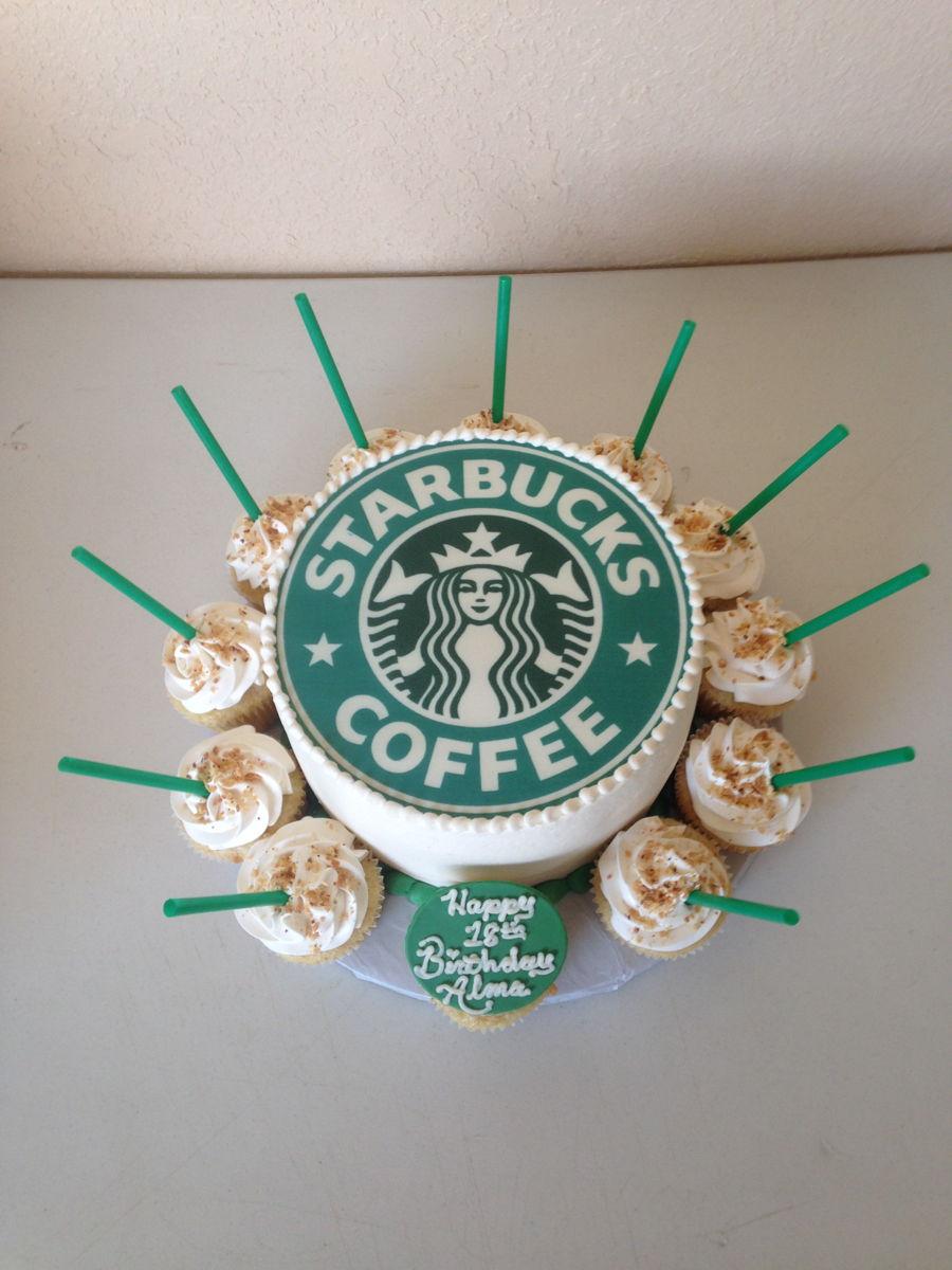 Starbucks Birthday Cake Cakecentral Com