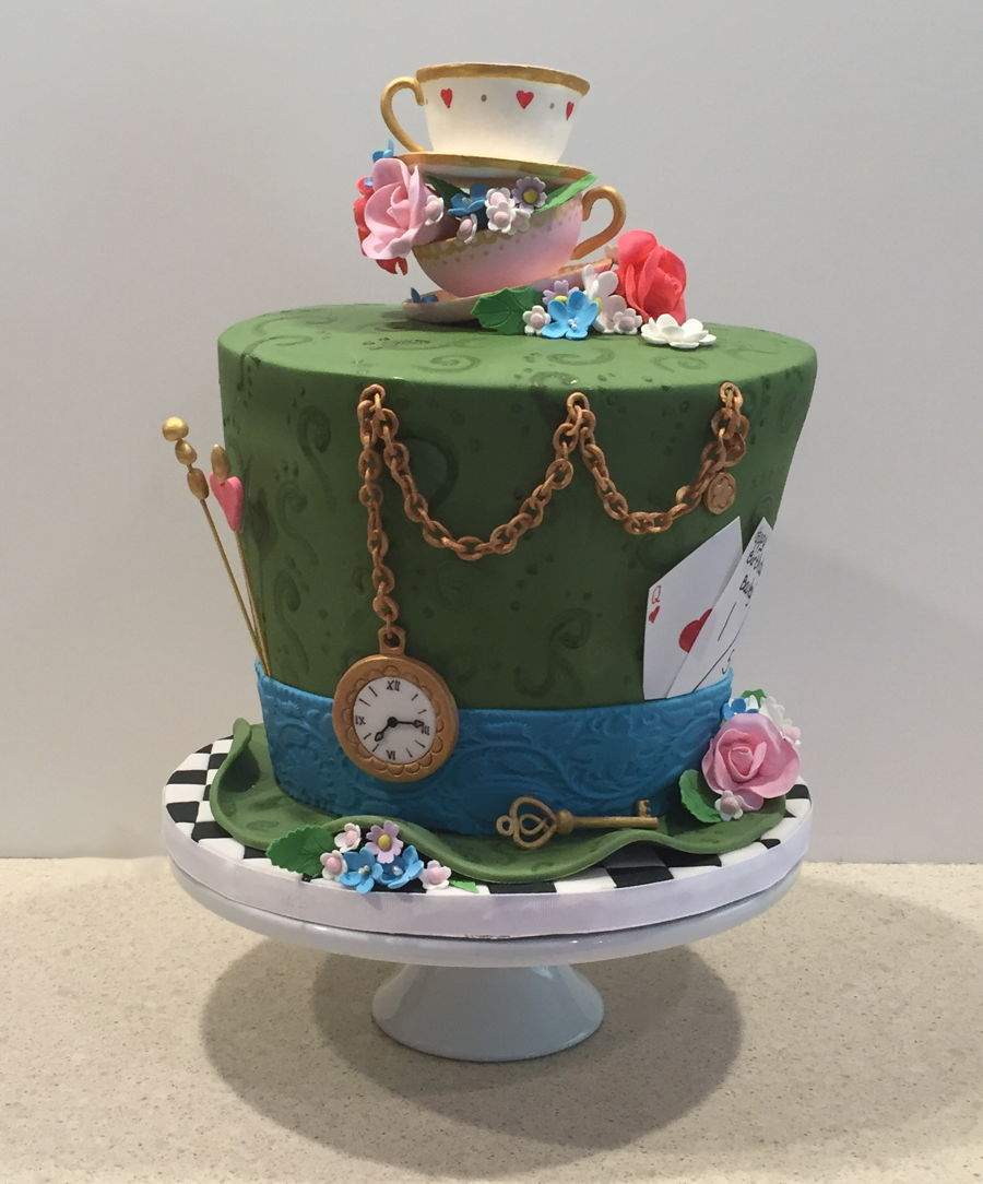 Tea Party Birthday Cakes