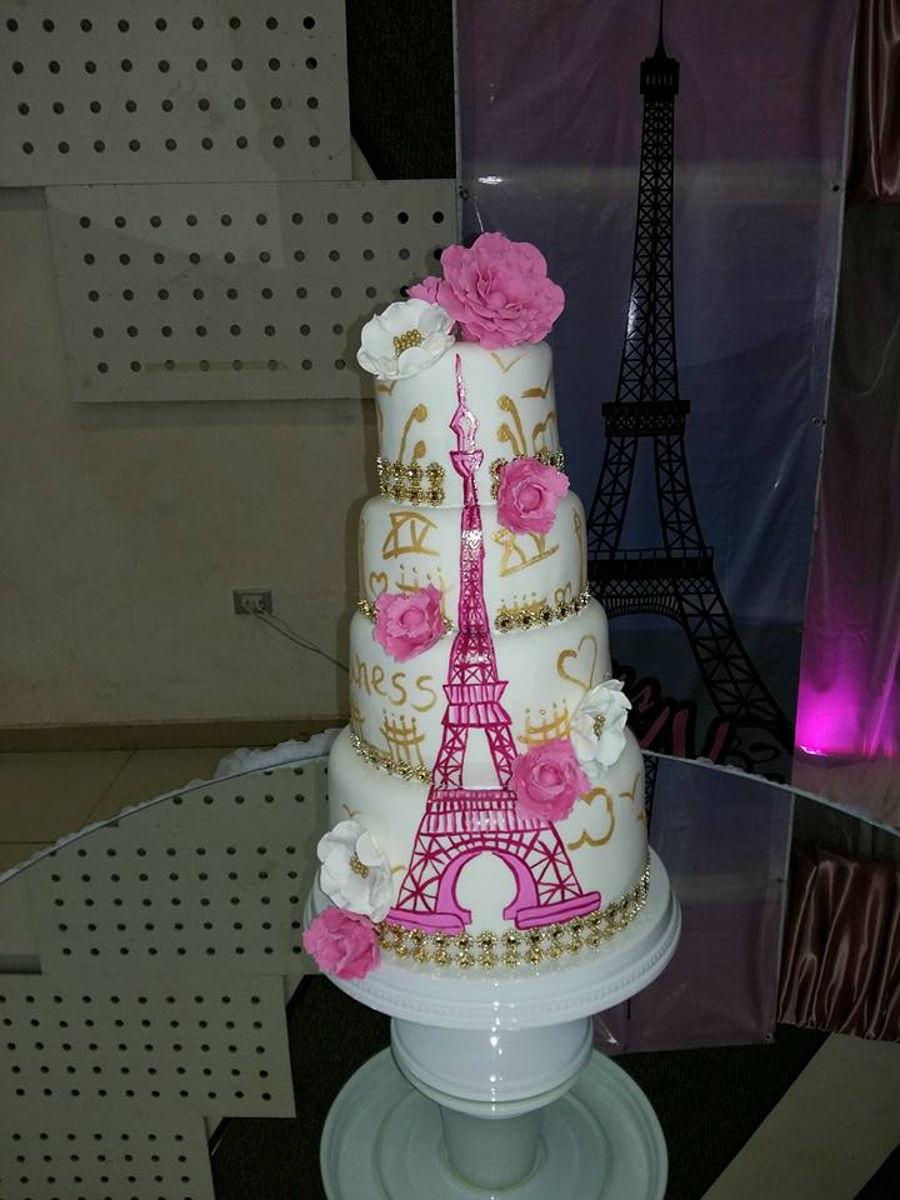 Paris Quincea 241 Era Cake Cakecentral Com