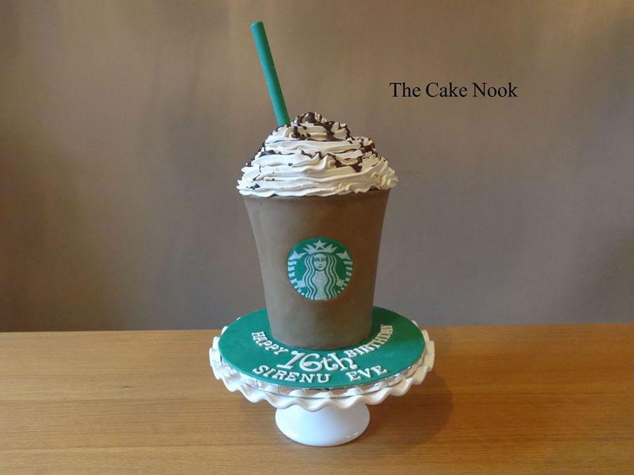 Starbucks Frappacino Cake Cakecentral Com