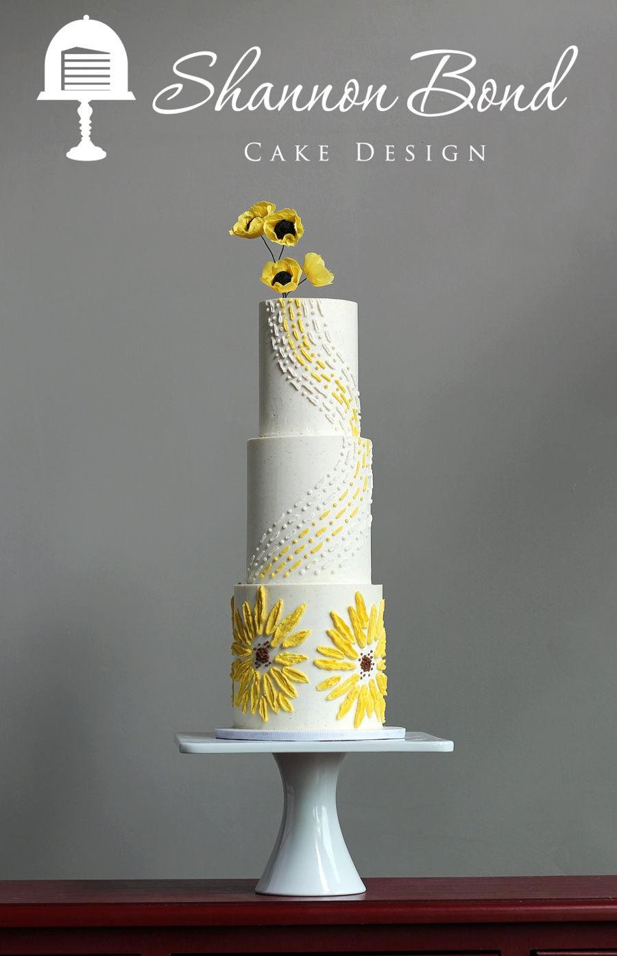 Buttercream Bas Relief Wedding Cake Cakecentral Com