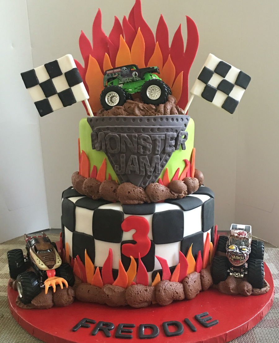 Monster Jam Cakecentral Com