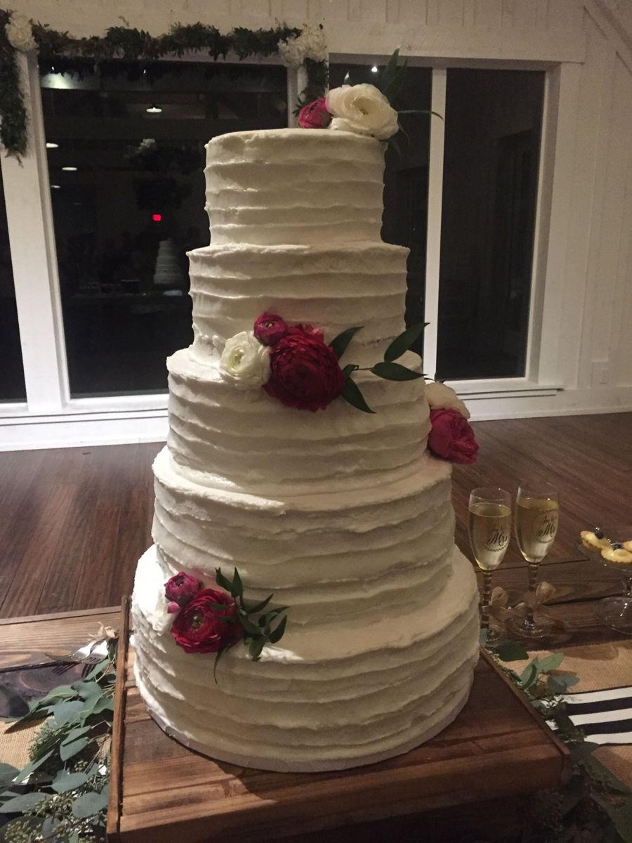 Janet S Sugar Art Cakery Jordan S Rustic Wedding Cake