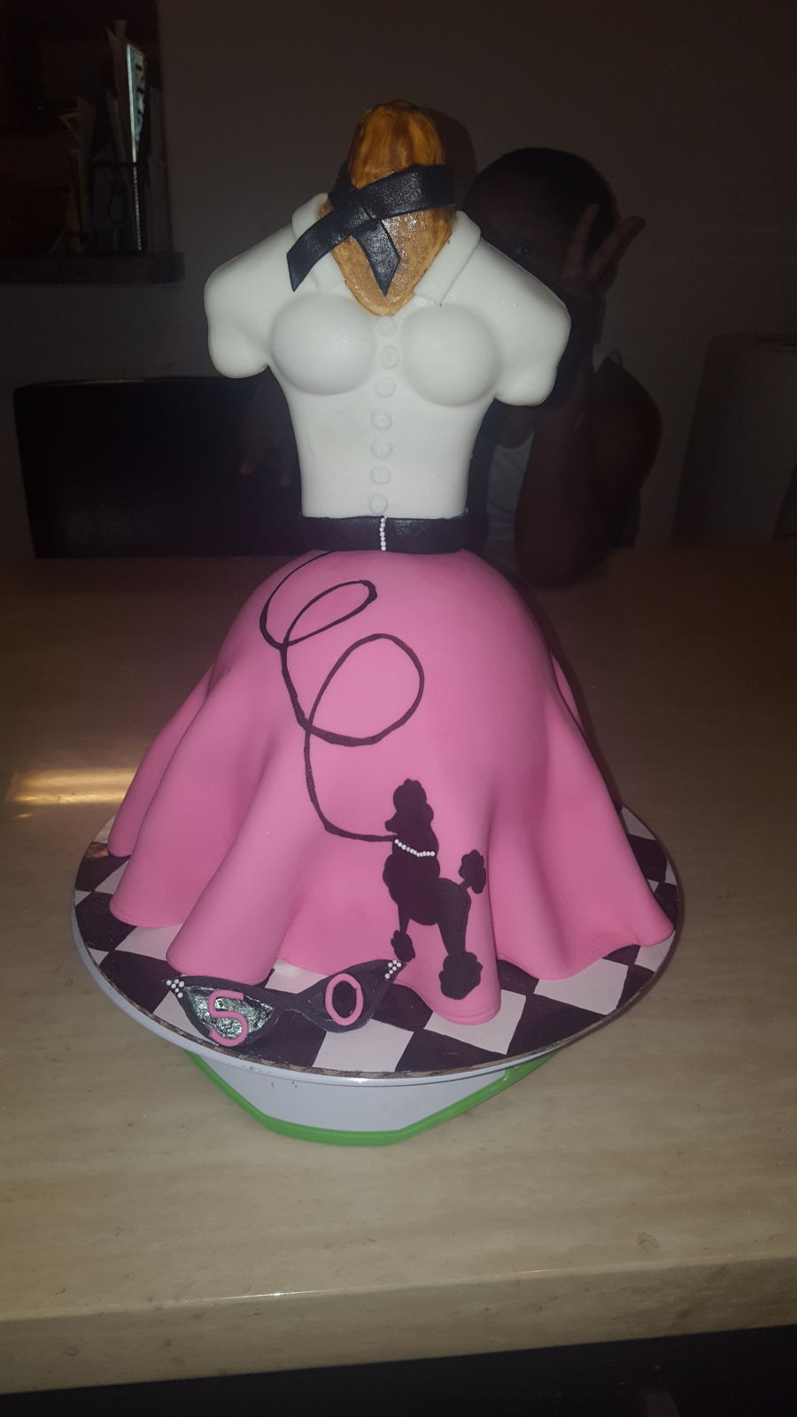 Poodle Skirt Cake Cakecentral Com