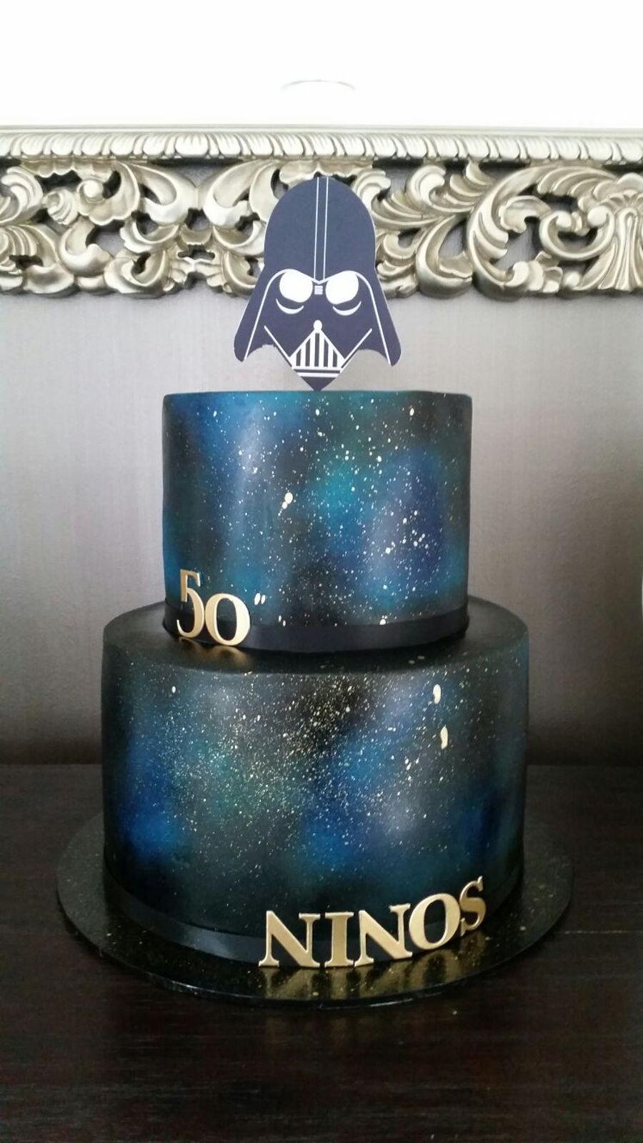 Star Wars Theme Cake Cakecentral Com