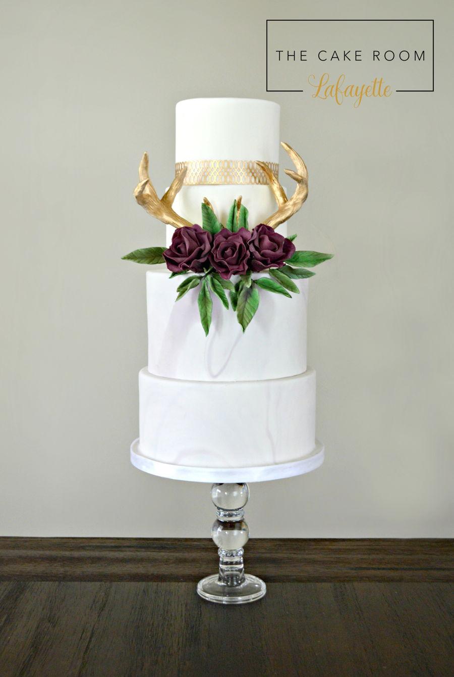 Antler Wedding Cake Cakecentral Com
