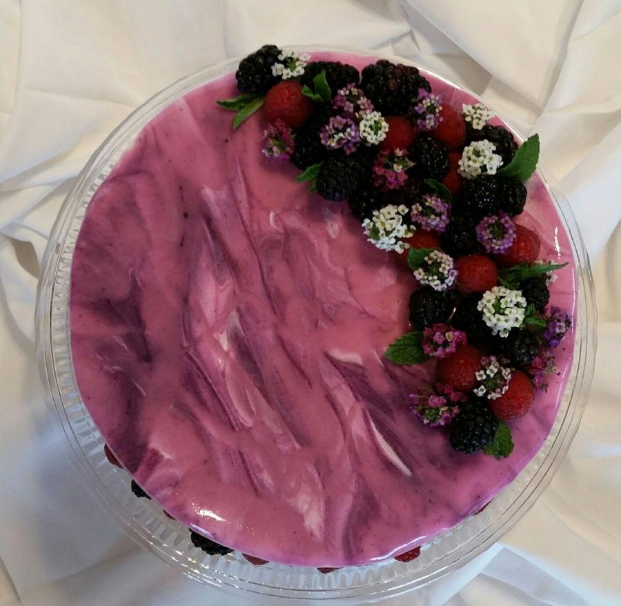 Mirror Glaze Cake Cakecentral Com