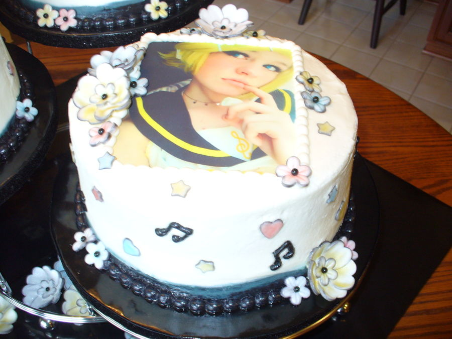 Themed Cake Hand Wedding Anime Pictures Picturesboss