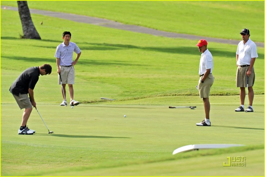 Barack Obama s Got  Golf  Game  Photo 1623091   Barack Obama     Barack Obama s Got  Golf  Game