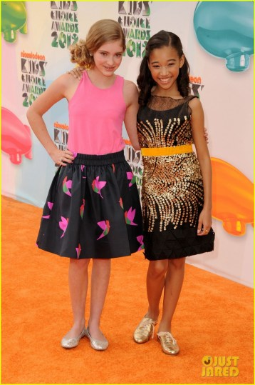 Hunger Games  Cast   Kids  Choice Awards 2012  Photo 2644045   2012      Hunger Games  Cast   Kids  Choice Awards 2012