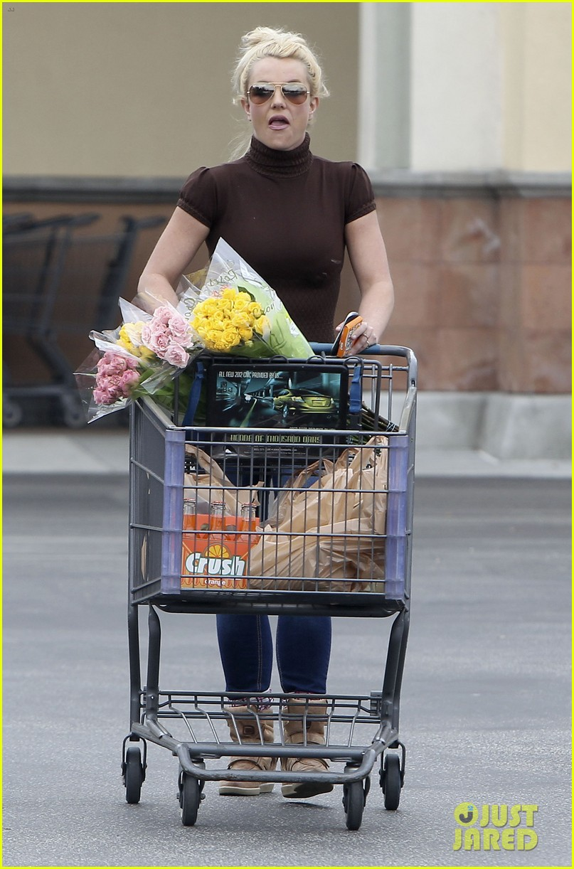 Britney Spears Grocery Shopping Gal Photo 2803877