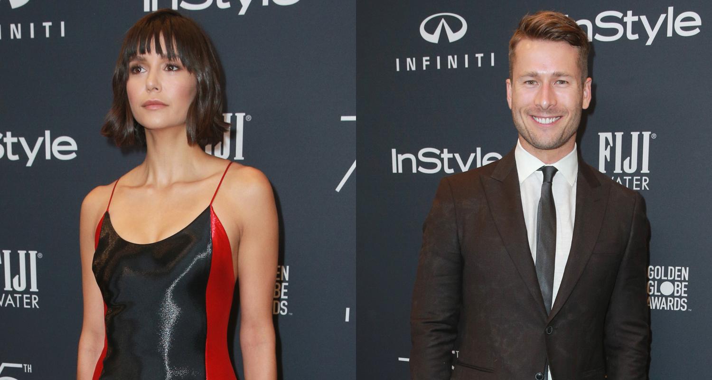 Nina Dobrev & Boyfriend Glen Powell Couple Up for InStyle ...