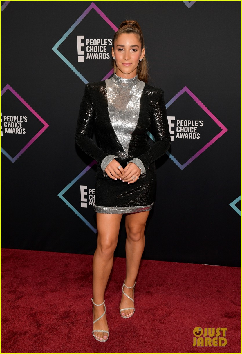 Aly Raisman Is a Game Changer at People's Choice Awards ...