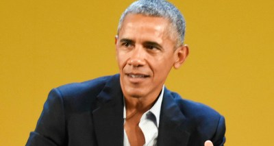 Barack Obama Gives First Speech Since Leaving Office At ...