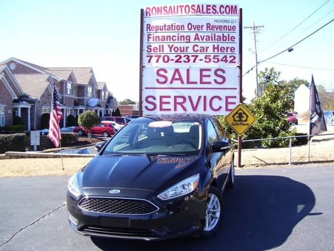 2015 Ford Focus SE In Lawrenceville GA   Rons Auto Sales INC 2015 Ford Focus for sale at Rons Auto Sales INC in Lawrenceville GA