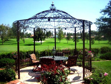 Custom Wrought Iron Gazebo 10 12 And Other Sizes