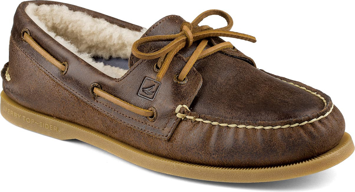 Tan Boat Shoes