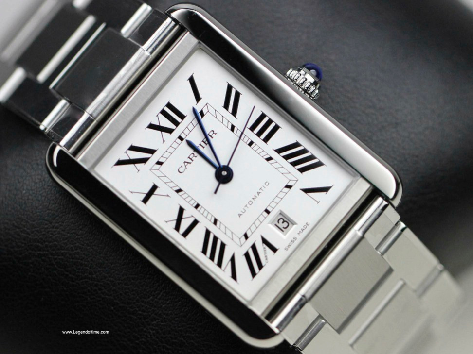 Cartier Watches Tank Solo XL Stainless Steel Swiss Watch Ref     Legendoftime      Cartier Watch   Tank Solo XL Stainless Steel Bracelet  W5200028   New   www