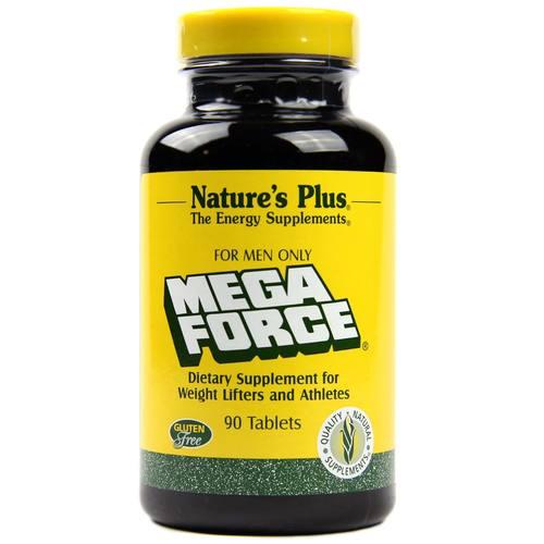 Nature's Plus Mega Force - 90 Tablets - eVitamins.com
