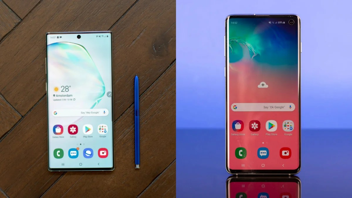 Samsung Galaxy Note 10 vs Galaxy S10: Which should you opt ...