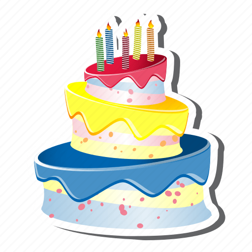 Cake Without Candles Clip Art