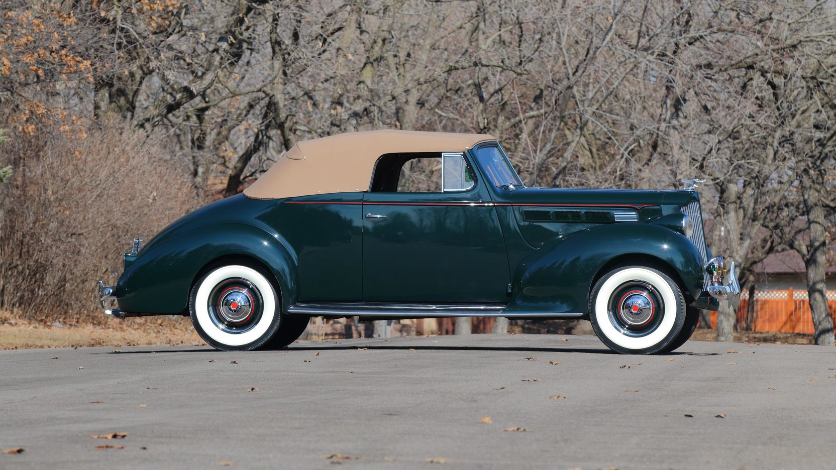 1938 Packard Six Convertible S155 Indy 2015