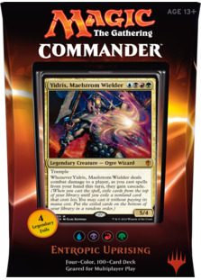 Commander 2016 Decklists Commander 2016  Entropic Uprising
