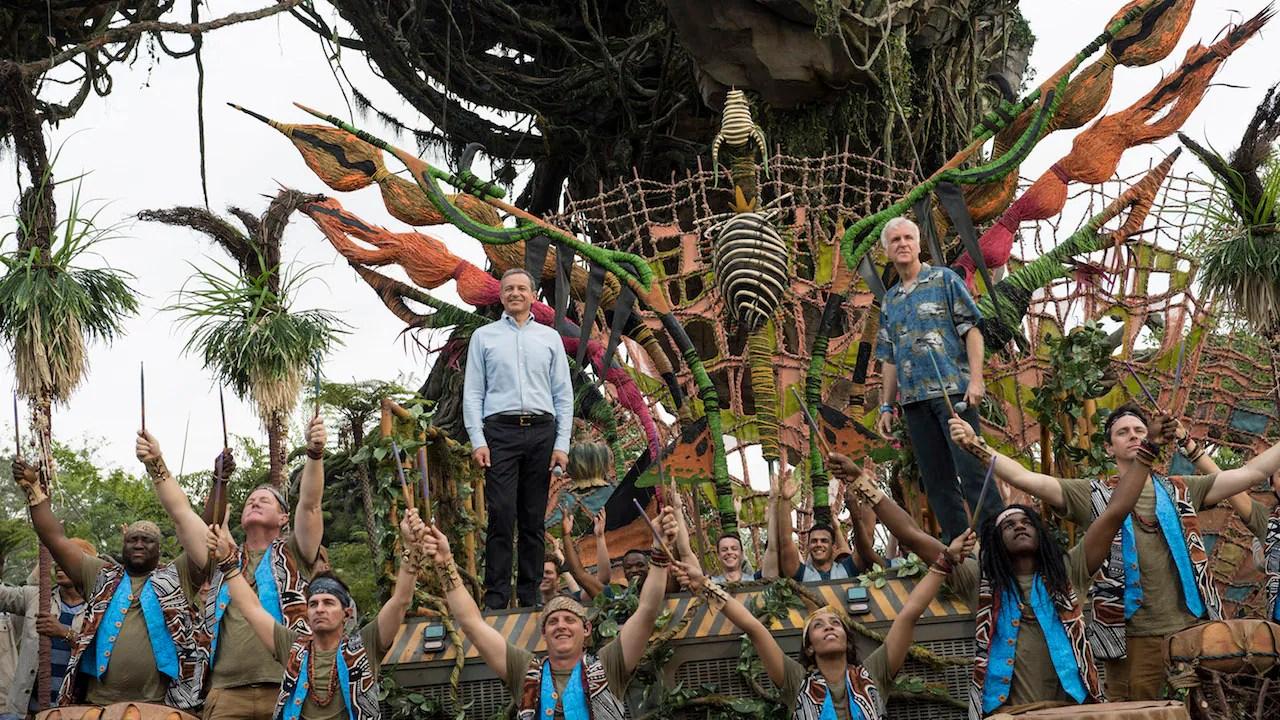 Image of: Floating Disney Dedicates Pandora The World Of Avatar At Disneys Animal Kingdom Disney Parks Disney Dedicates Pandora The World Of Avatar At Disneys Animal