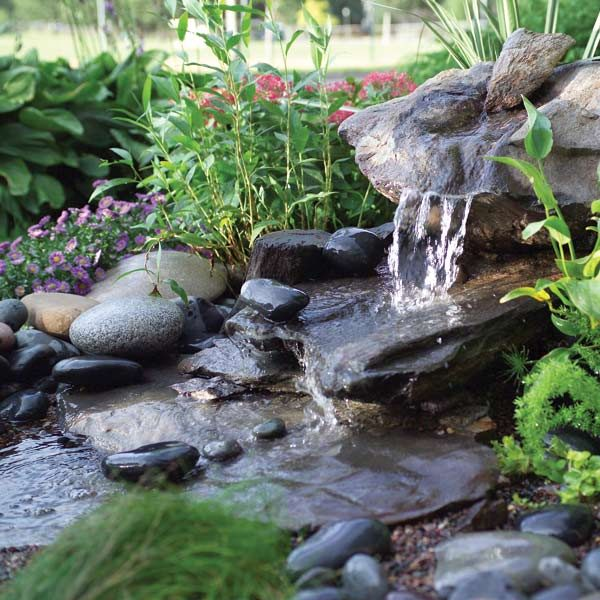 Building Garden Water Feature