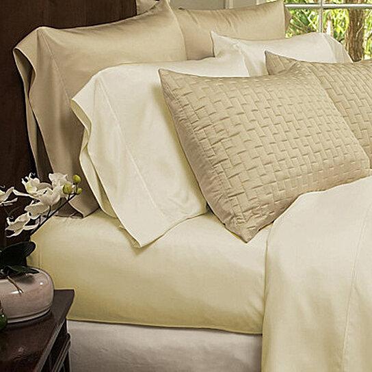 Buy 4-Piece Set: Super-Soft 1800 Series Bamboo Fiber Bed ...