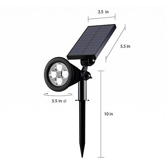 Mountable Solar Lights