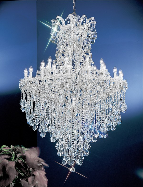 crystal chandelier traditional # 10