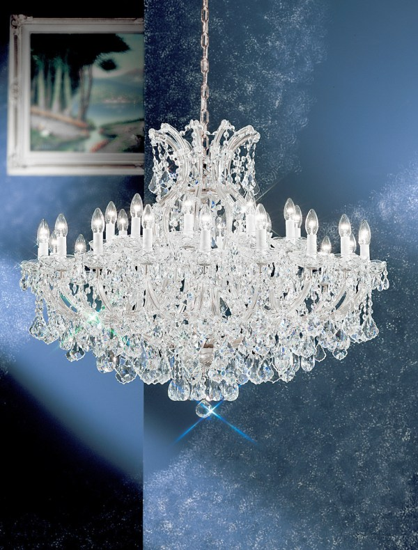 crystal chandelier traditional # 81