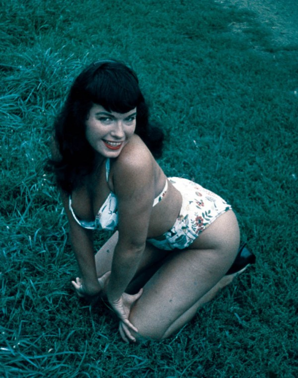 bettie page color # 1