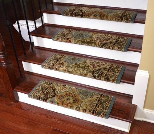 Dean Non Slip Tape Free Pet Friendly Stair Gripper | Dean Bullnose Stair Treads