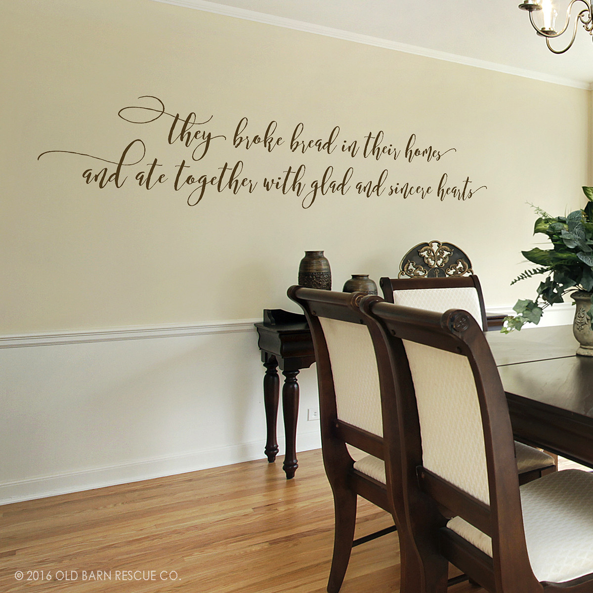 Wall Art Stickers Dining Room