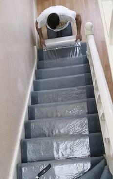 How To Protect Carpet On Stairs Trio Plus Distribution Ltd | Protecting Carpet On Stairs | Stair Treads Carpet | Carpet Mats | Non Slip Mat | Self Adhesive | Flooring