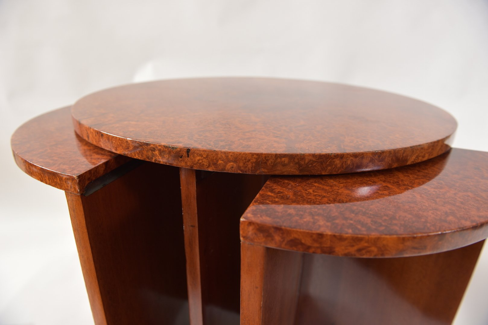 Mahogany Nesting Tables Set 3
