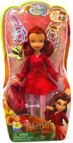 Disney Fairies Tinker Bell The Lost Treasure Rosetta 8 ...