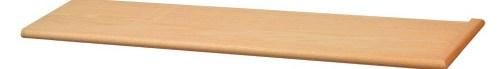 60 Inch Plain Wood Stair Tread | African Mahogany Stair Treads | Handrail | Cutting Board | Plank | Oak | Mahogany Wood Stair