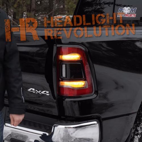2019 Ram 1500 Oem Led Tail Lights Headlight Revolution