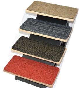 Non Skid Carpet Stair Treads Dean Flooring Company | Carpet Squares For Stairs | Diy | Right Price Carpet | Hallway | Interior Modern | Stair Carpet Installation