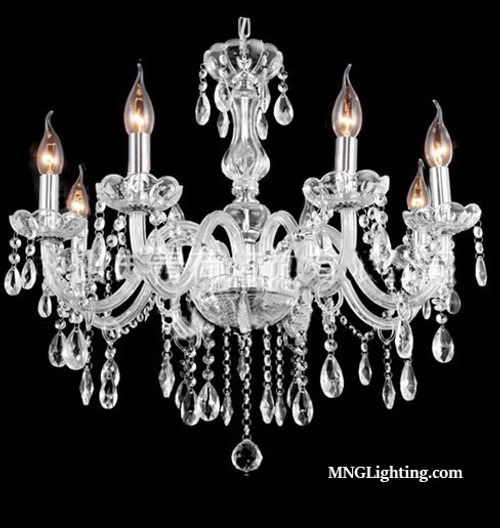 crystal chandelier traditional # 24
