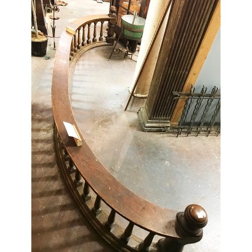Architectural Salvage Stair Part Materials Unlimited | Antique Handrails For Stairs | Newel Posts | Wrought Iron Stair | Antique Wood | Antique Green | Wood