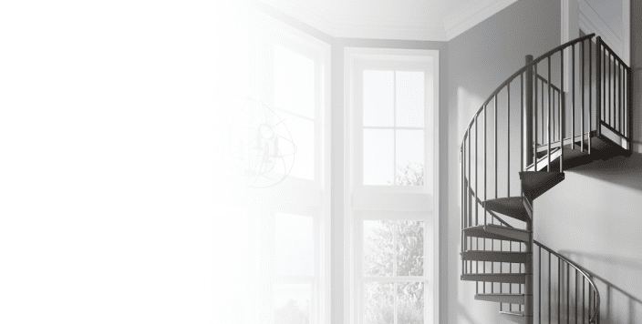 Mylen Stairs Designing Building Custom Staircases Since 1945   Salter Spiral Stair Cost   Stair Railing   Deck Railing   Stair Case   Solid Wood   Collegeville Pa