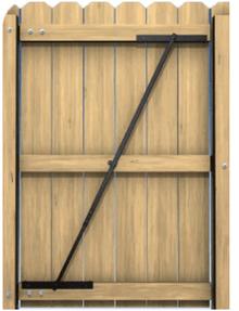 E Z Brace Wooden Gate Amp Sagging Fence Gates Hardware