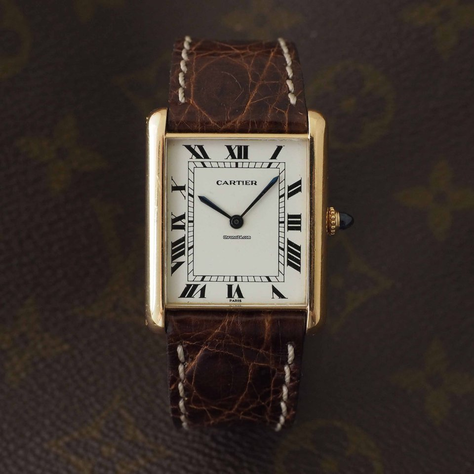 Cartier Tank Paris Jumbo Automatique for  8 221 for sale from a     Cartier Tank Paris Jumbo Automatique for  8 221 for sale from a Trusted  Seller on Chrono24