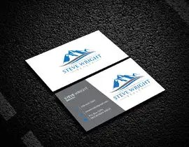 Design a real estate logo and business card layout for Steve Wright     Featured Contest