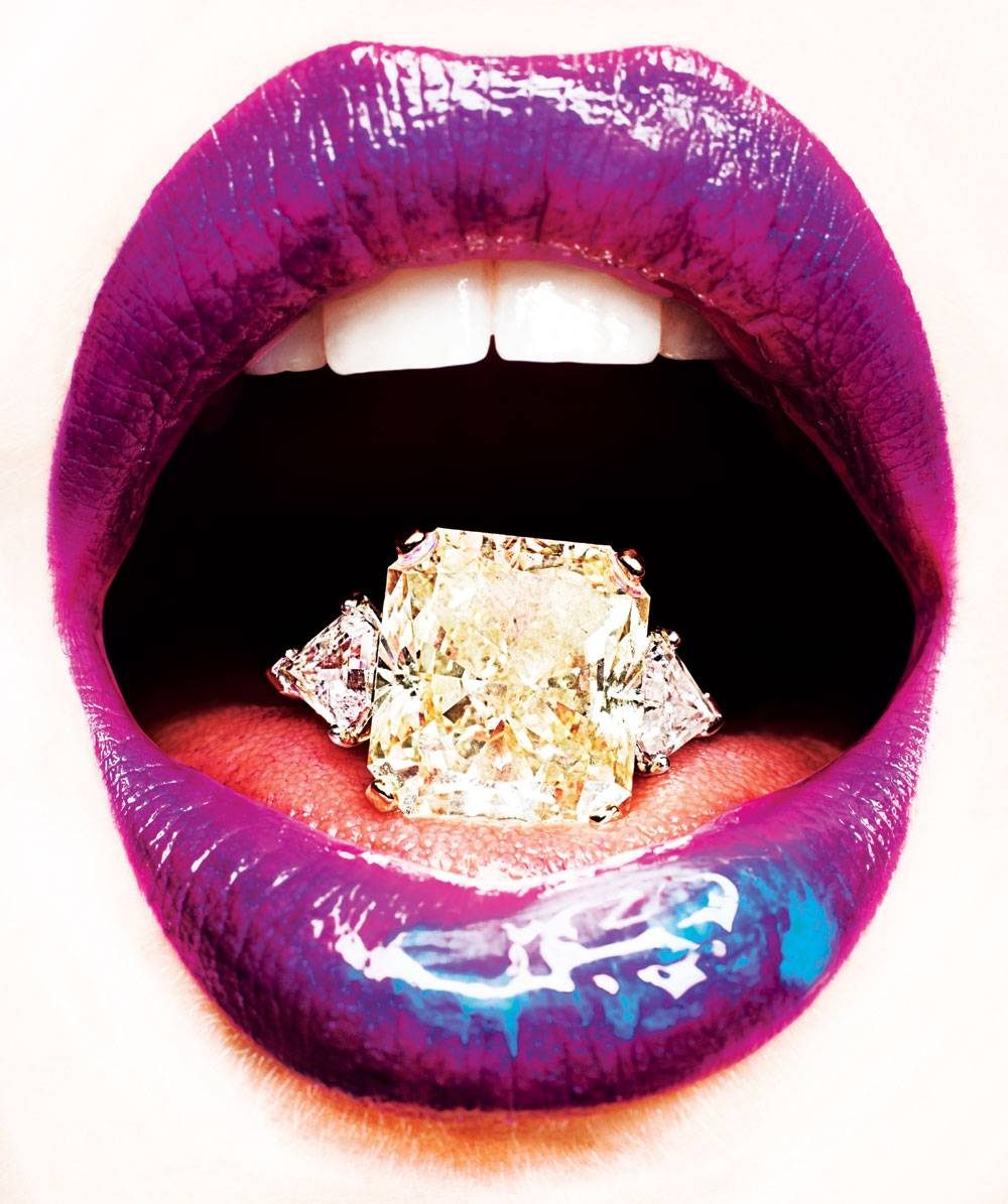 Fashion Our Girl Loves Brilliant Diamonds And Sumptuous