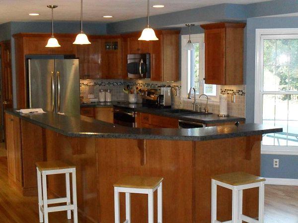 G Shaped Kitchen Floor Plans